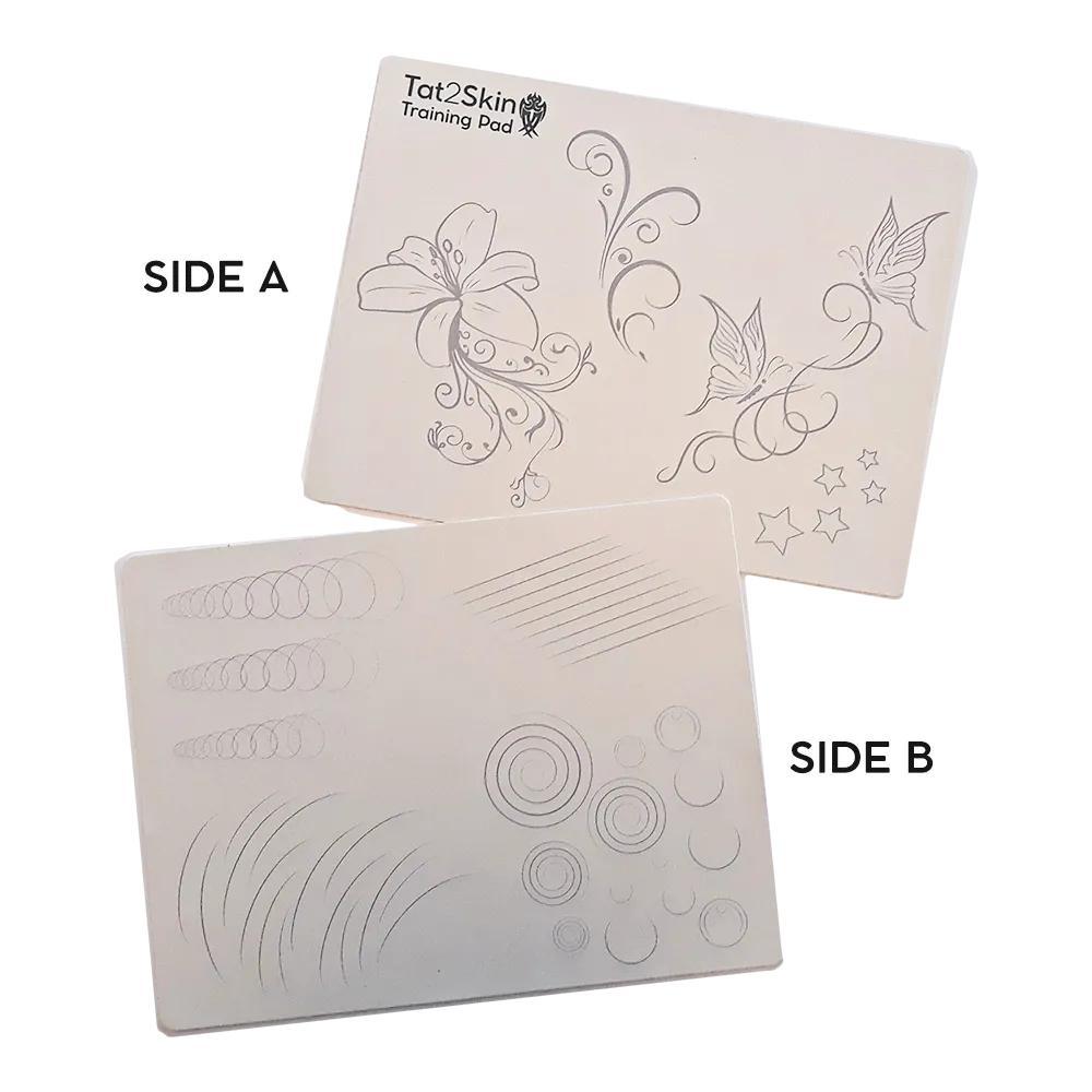 Tattoo Practice Skin Training Pad Printed